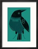 Crow Reproduction encadrée
