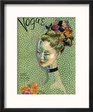 Vogue Cover - July 1935 Reproduction encadrée par Cecil Beaton