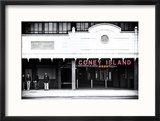 Subway Station  Coney Island Reproduction encadrée par Philippe Hugonnard