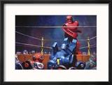 The Final Blow - Eric Joyner Poster Reproduction encadrée par Eric Joyner