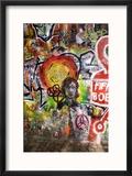 Lennon Wall, Prague Reproduction encadrée par Mark Williamson