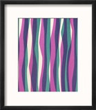 Wavy Stripes Reproduction encadrée par Pop Ink - CSA Images