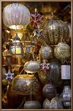Lanterns for Sale in the Souk, Marrakesh, Morocco, North Africa, Africa Reproduction encadrée par Simon Montgomery