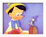 Pinocchio, 1940 Reproduction encadrée