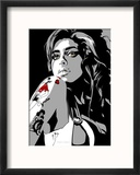 Amy Winehouse Reproduction encadrée par Emily Gray