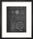 Soccer Ball Patent, How To Make Reproduction encadrée