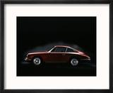 1967 Porsche 911 Reproduction encadrée