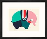Bauhaus Elephant Reproduction encadrée