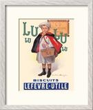 Lu Biscuits - The Little Student (Le Petit Ecolier) - Lefèvre-Utile (LU)