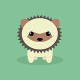 Cute Cartoon Porcupine
