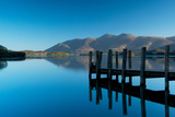 A View Toward Skiddaw Mountain over Derwent Water from the Jetty