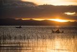 Sunset over Lake Titicaca  Copacabana  Lake Titicaca  Bolivia