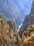 The Gunnison River in the Black Canyon Black Canyon of the Gunnison National Park  Colorado