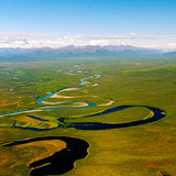 North Fork of the National Wild and Scenic River South of the Brooks Range in Alaska