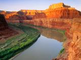 "The ""Colorado River"" at Sunrise Sunrise [Canyonlands National Park] Utah"