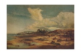 Coast Scene with Church  c1824