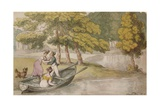 Popes Villa  Twickenham: The Outing  c1819