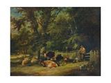 A Shady Corner  1840