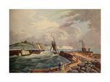 Cutter Entering Dover Harbour  1819