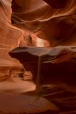 Sunlight Streams into Antelope Pass Canyon