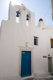 A Church in the Medieval Village of Kastro on the Island of Sifnos