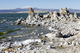 The Tufa Towers at Mono Lake  California  USA
