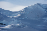 A View of the Mountains Surrounding Paradise Bay  Antarctica