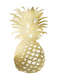 Gold Foil Pineapple II