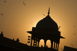 The Dome of the Jama Masjid Mosque in Old Delhi