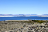 Scenic View of Mono Lake in California  USA