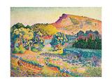 Landschaft mit Le Cap Nègre Paysage avec le cap Nègre 1906