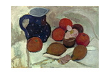 Still life with blue  white spotted jar (II) 1906