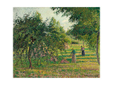 Apple Trees and Hay Makers at Eragny (Pommiers et Faneuses  Eragny) 1895