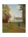 At the Castle Tanlay (Au Chateau de Tanlay) 1907