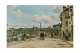 View of Pontoise (Quai du Pothuis) 1868