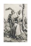 Das Liebespaar und der Tod (Der Spaziergang) Um 1498