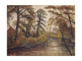 Dusk (Autumn at the Wümme river) 1933