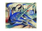 Dreaming Horse (Träumendes Pferd) 1913