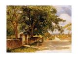 Street in Nassau Ca 1878
