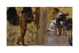 Huldigung an die Malerei 1889