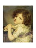 Das Mädchen mit der Puppe