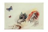 Battle of the Centaurs (Lutte des Centaures)
