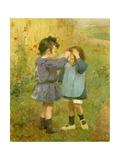 Ein Blümchen für die kleine Schwester