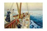 Segeln im Mittelmeer 1896