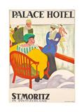 'Palace Hotel St Moritz' 1920