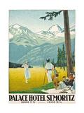 'Palace Hotel St Moritz' 1921
