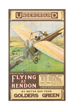 Flying at Hendon 1914
