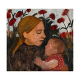 Young woman with child 1902