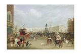 Trafalgar Square in London 1836