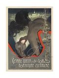 Werbeplakat für den italienischen Leuchtmittelhersteller 'Cesare Urtis & Co' 1889